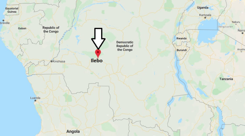 Where is Ilebo Located? What Country is Ilebo in? Ilebo Map