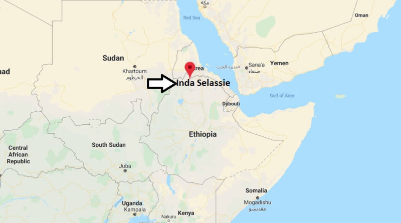 Where is Inda Selassie Located? What Country is Inda Selassie in? Inda Selassie Map