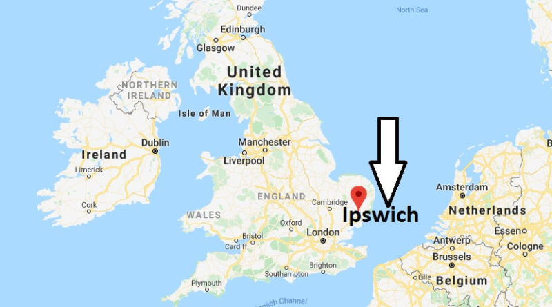 Where is Ipswich Located? What Country is Ipswich in? Ipswich Map