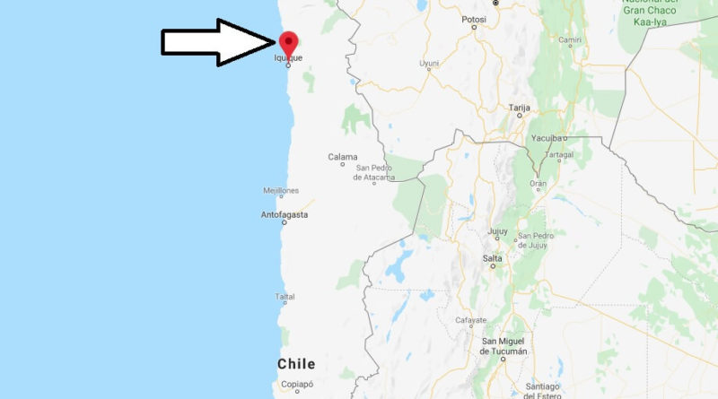 Where is Iquique Located? What Country is Iquique in? Iquique Map