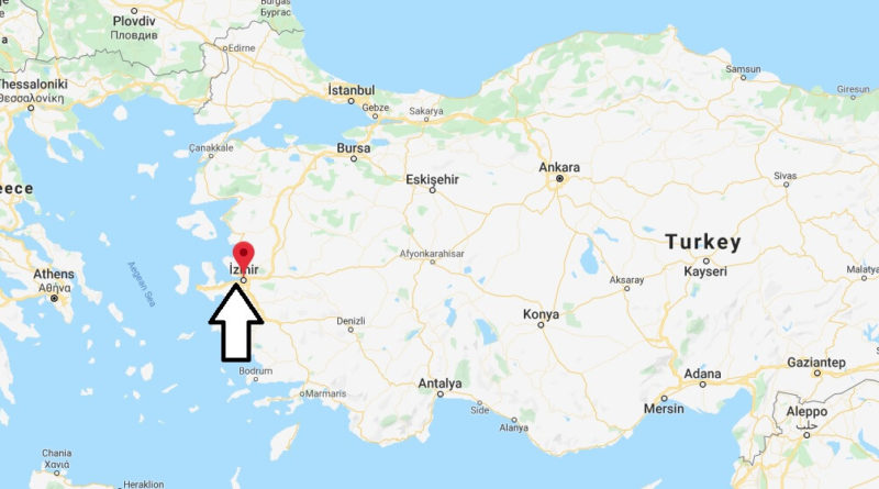 Where is Izmir Located? What Country is Izmir in? Izmir Map