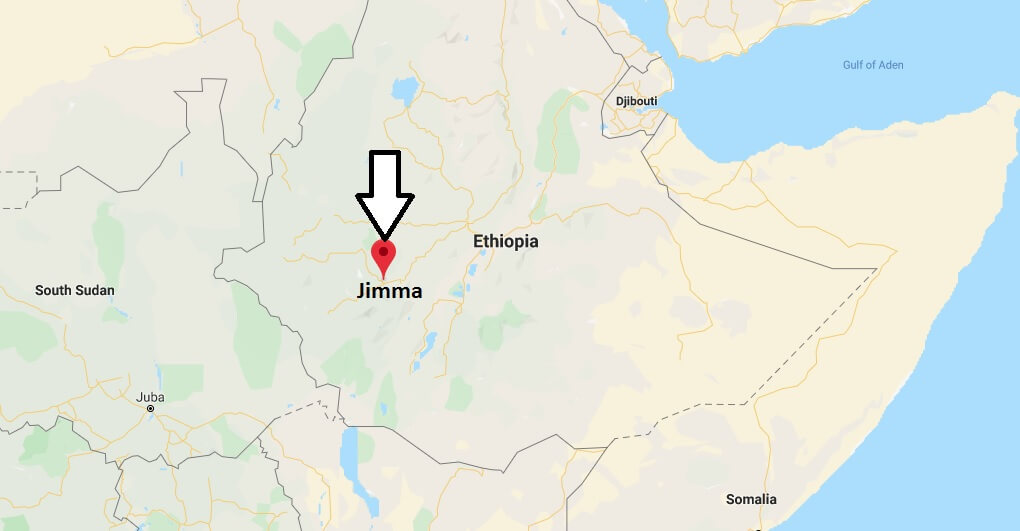 Where is Jimma Located? What Country is Jimma in? Jimma Map