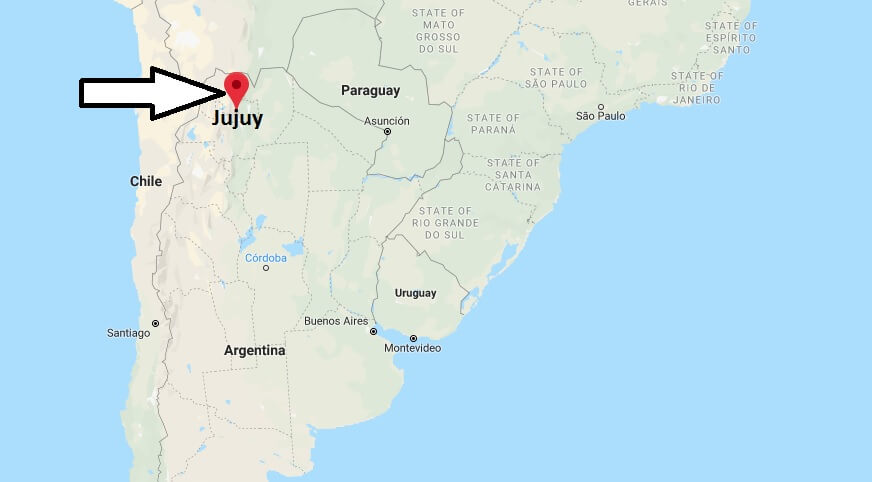Where is Jujuy Located? What Country is Jujuy in? Jujuy Map