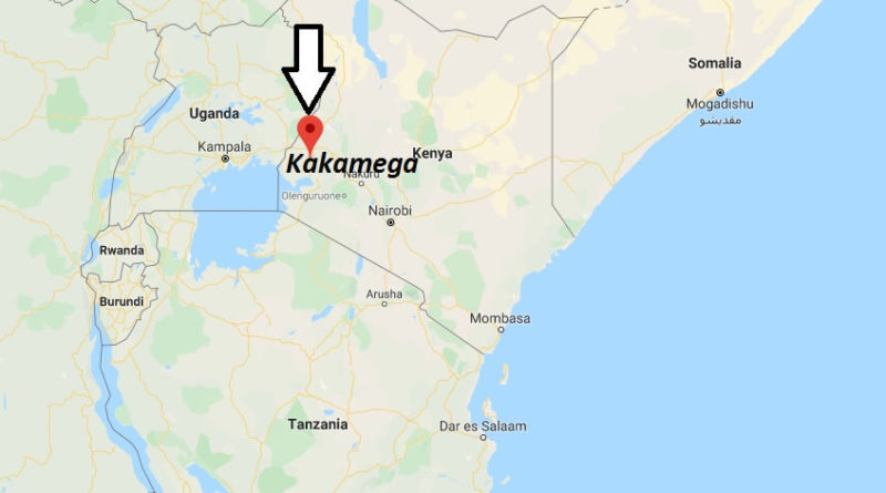 Where is Kakamega Located? What Country is Kakamega in? Kakamega Map
