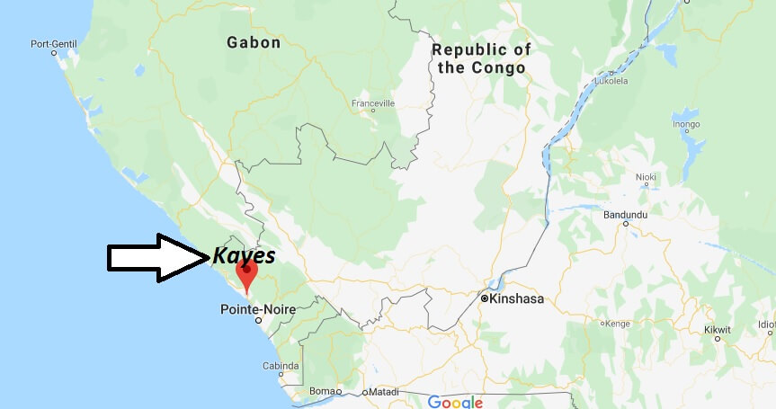 Where is Kayes Located? What Country is Kayes in? Kayes Map