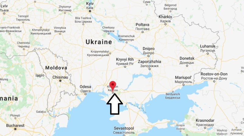 Where is Kherson Located? What Country is Kherson in? Kherson Map