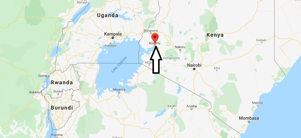 Where is Kisumu Located? What Country is Kisumu in? Kisumu Map