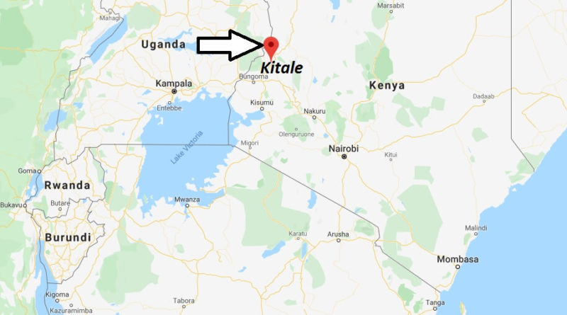 Where is Kitale Located? What Country is Kitale in? Kitale Map