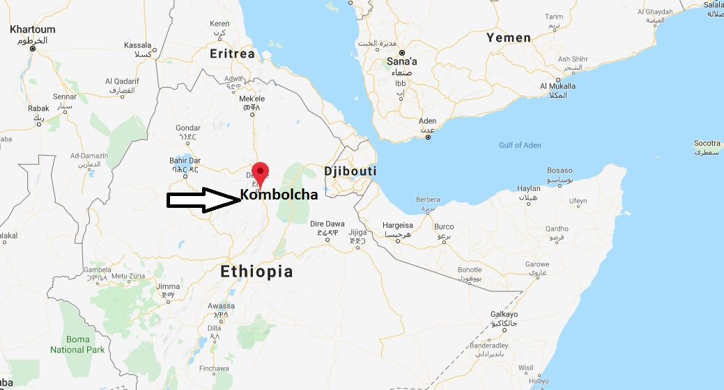 Where is Kombolcha Located? What Country is Kombolcha in? Kombolcha Map