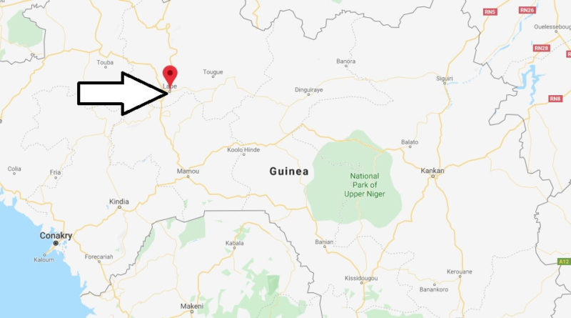 Where is Labé Located? What Country is Labé in? Labé Map