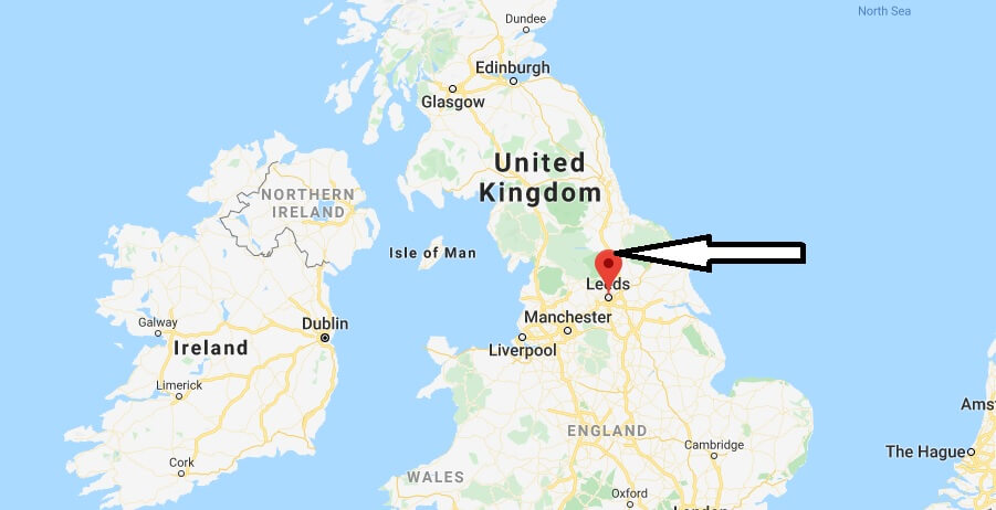 Where is Leeds Located? What Country is Leeds in? Leeds Map
