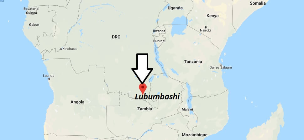 Where is Lubumbashi Located? What Country is Lubumbashi in? Lubumbashi Map