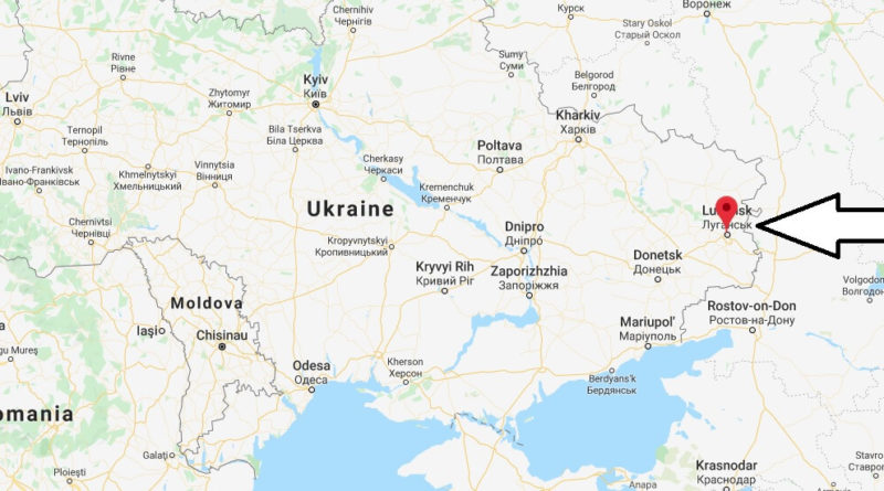 Where is Luhansk Located? What Country is Luhansk in? Luhansk Map