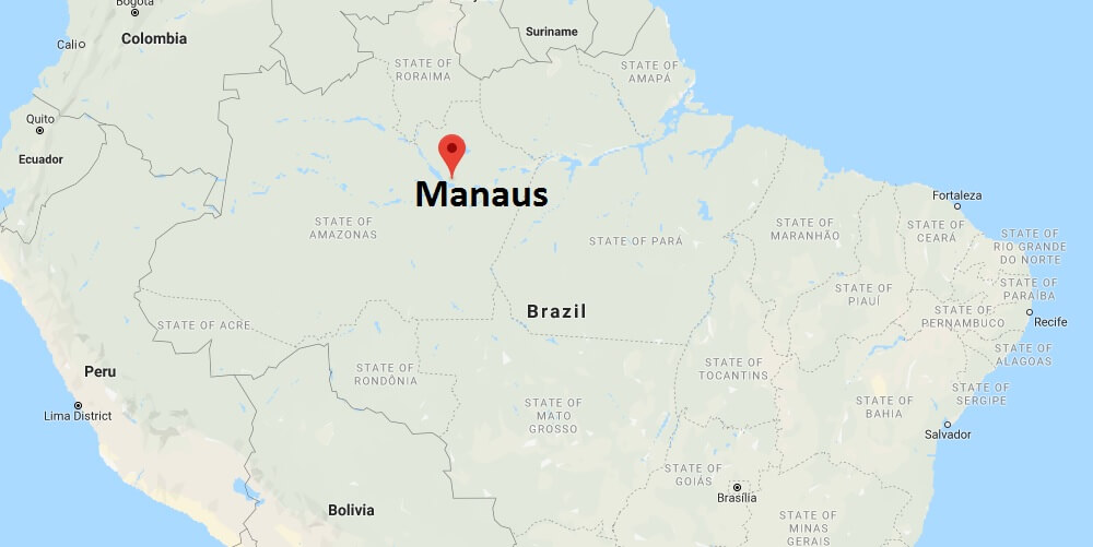 Where is Manaus Located? What Country is Manaus in? Manaus Map