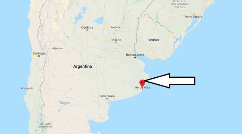 Where is Mar del Plata Located? What Country is Mar del Plata in? Mar del Plata Map