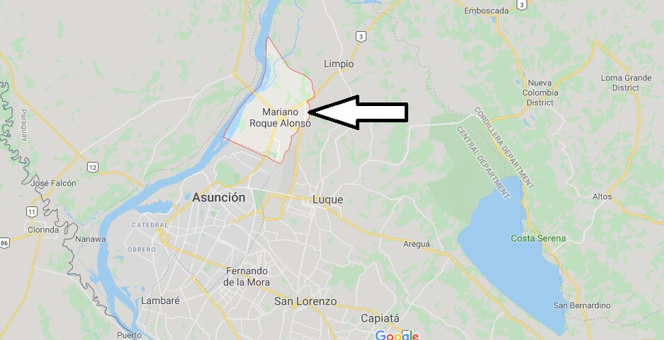 Where is Mariano Roque Alonso Located? What Country is Mariano Roque Alonso in? Mariano Roque Alonso Map