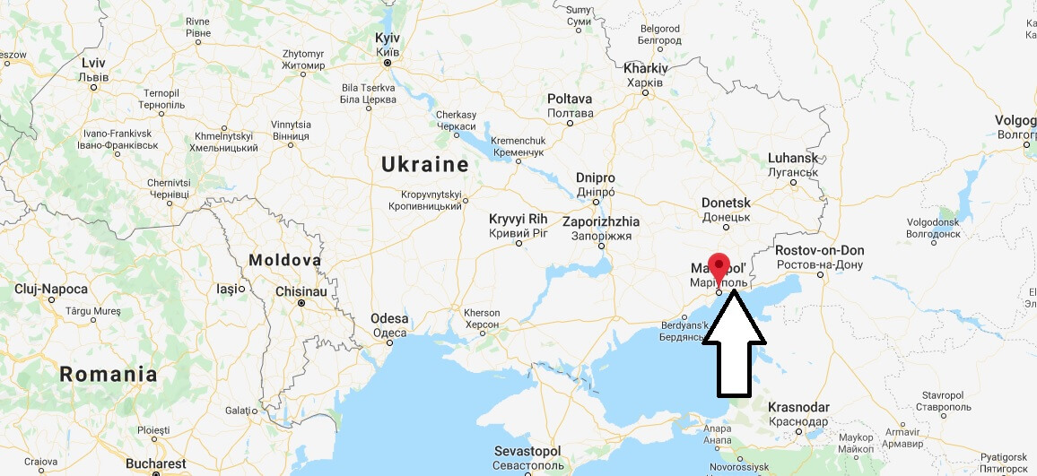 Where is Mariupol Located? What Country is Mariupol in? Mariupol Map