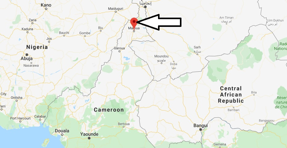 Where is Maroua Located? What Country is Maroua in? Maroua Map