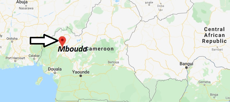 Where is Mbouda Located? What Country is Mbouda in? Mbouda Map