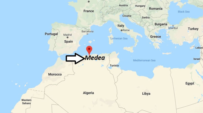 Where is Medea Located? What Country is Medea in? Medea Map
