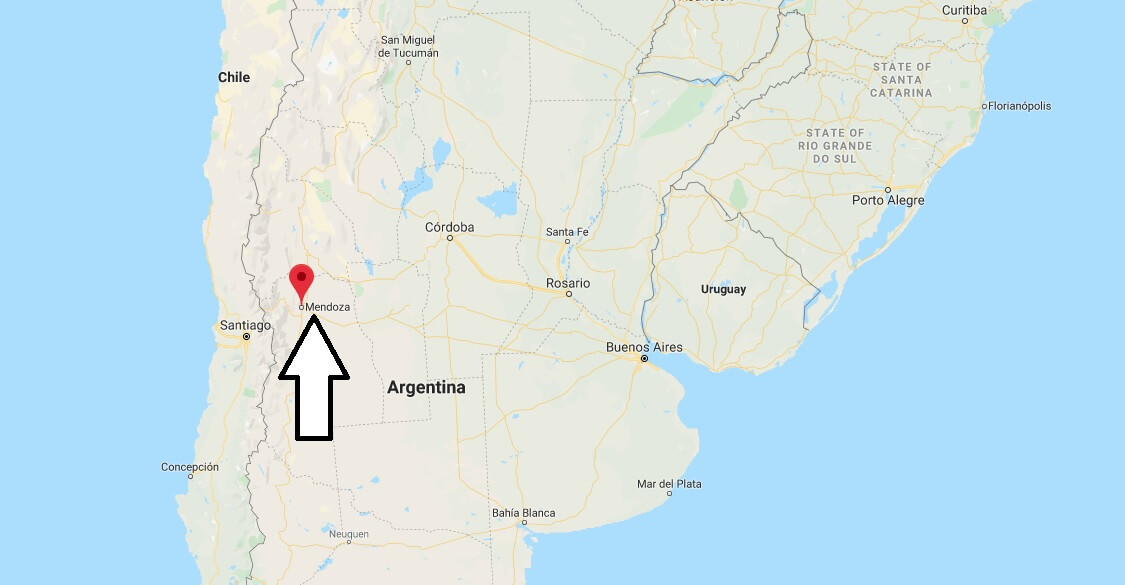 Where is Mendoza Located? What Country is Mendoza in? Mendoza Map