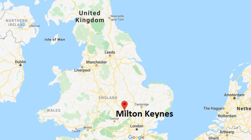 Where is Milton Keynes Located? What Country is Milton Keynes in? Milton Keynes Map