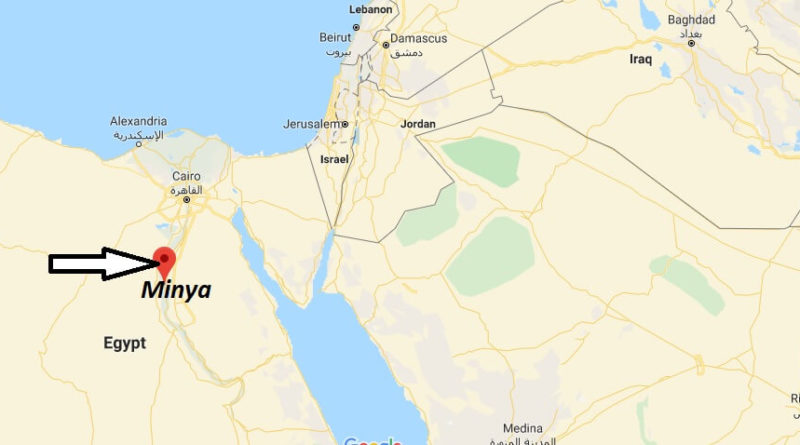 Where is Minya Located? What Country is Minya in? Minya Map