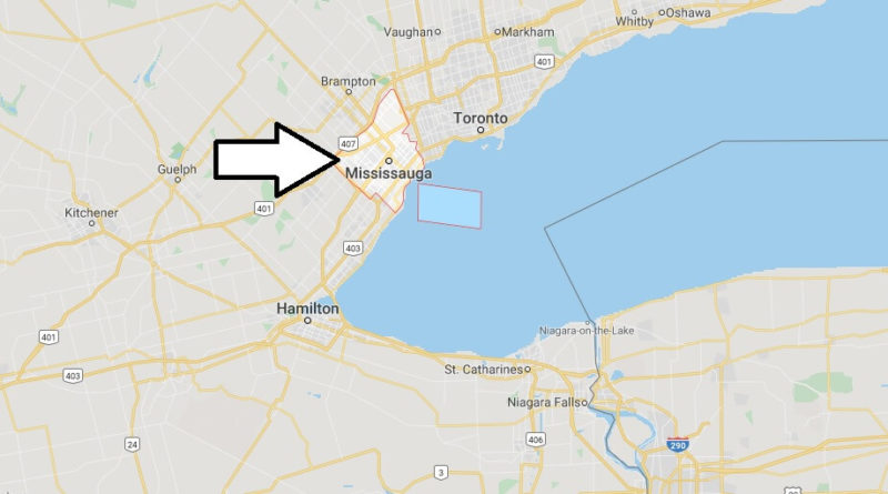 Where is Mississauga Located? What Country is Mississauga in? Mississauga Map