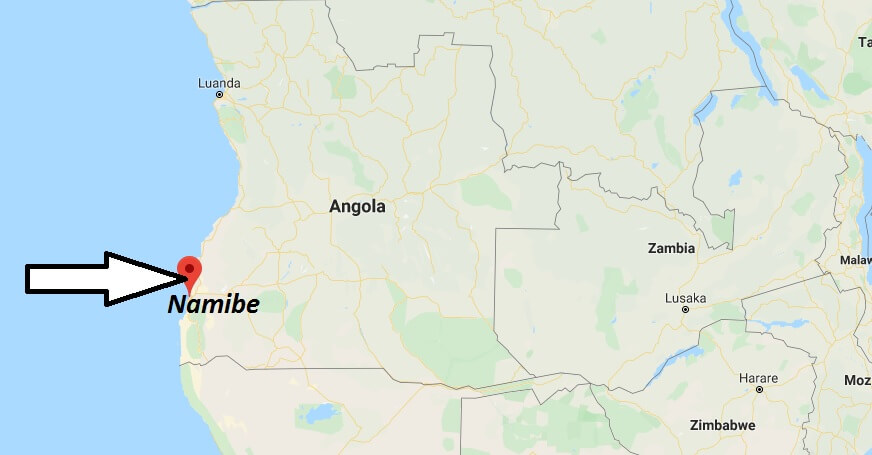 Where is Namibe Located? What Country is Namibe in? Namibe Map