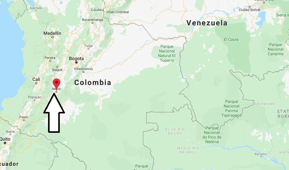 Where is Neiva Located? What Country is Neiva in? Neiva Map