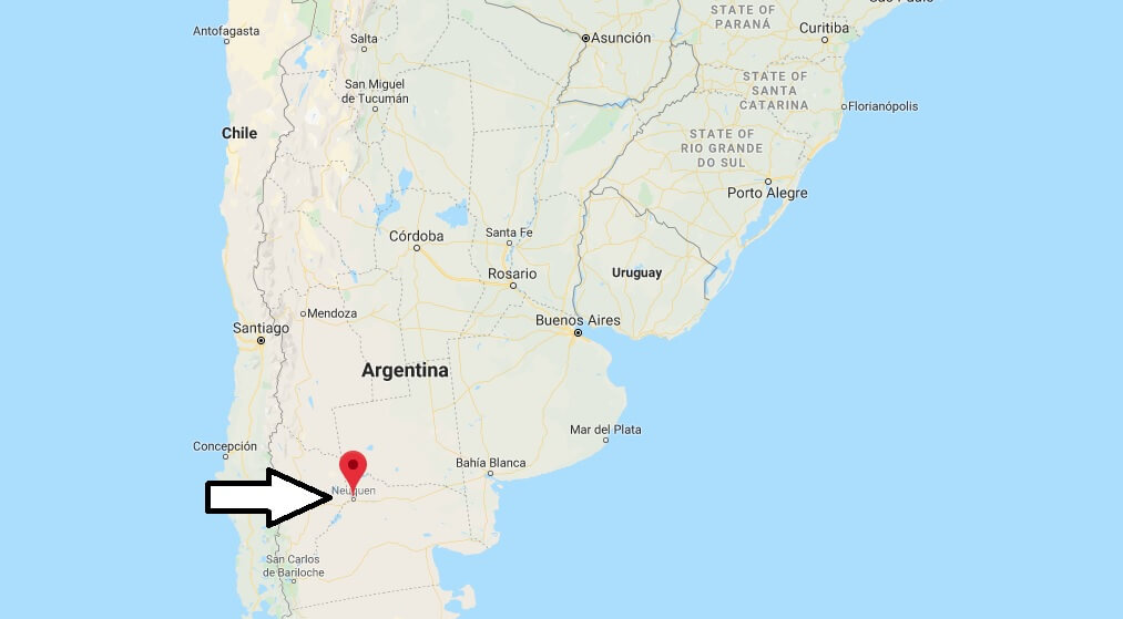 Where is Neuquen Located? What Country is Neuquen in? Neuquen Map
