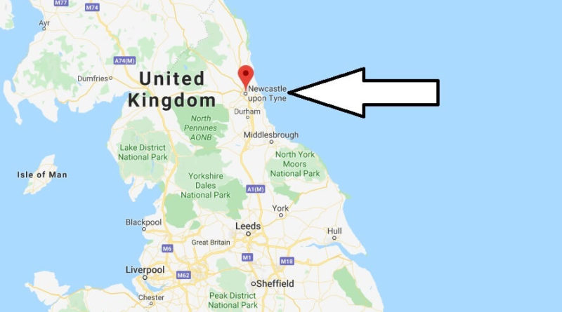 Where is Newcastle upon Tyne Located? What Country is Newcastle upon Tyne in? Newcastle upon Tyne Map