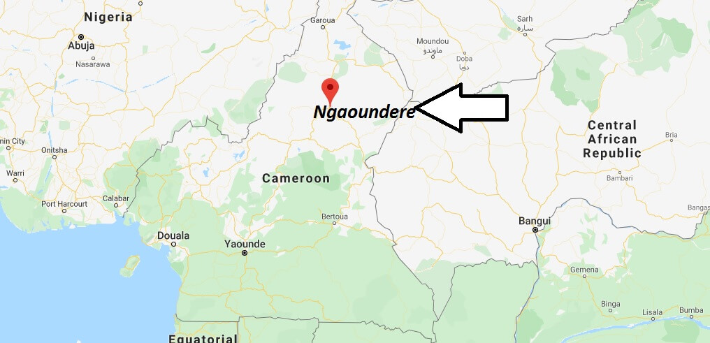 Where is Ngaoundere Located? What Country is Ngaoundere in? Ngaoundere Map