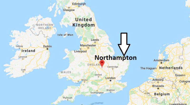 Where is Northampton Located? What Country is Northampton in? Northampton Map