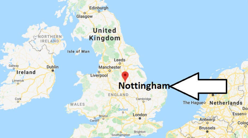 Where is Nottingham Located? What Country is Nottingham in? Nottingham Map