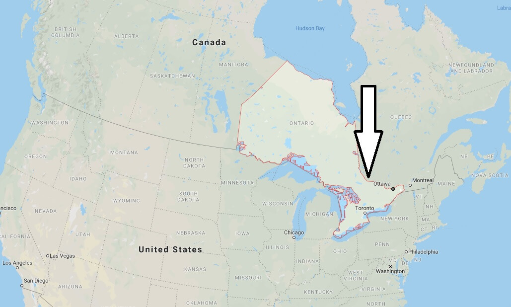 Where is Ontario Located? What Country is Ontario in? Ontario Map