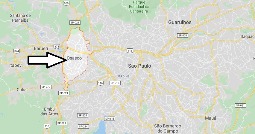 Where is Osasco Located? What Country is Osasco in? Osasco Map