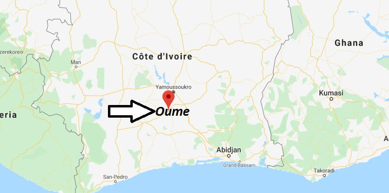 Where is Oume Located? What Country is Oume in? Oume Map