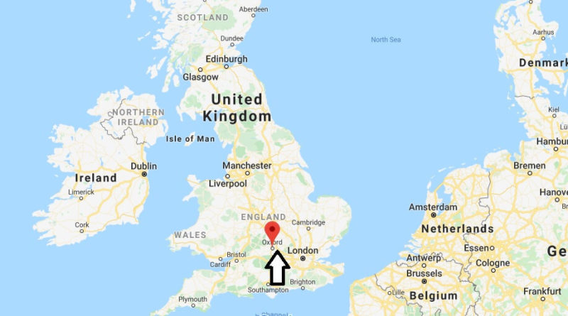 Where is Oxford Located? What Country is Oxford in? Oxford Map