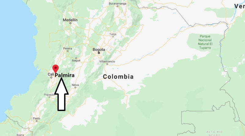 Where is Palmira Located? What Country is Palmira in? Palmira Map