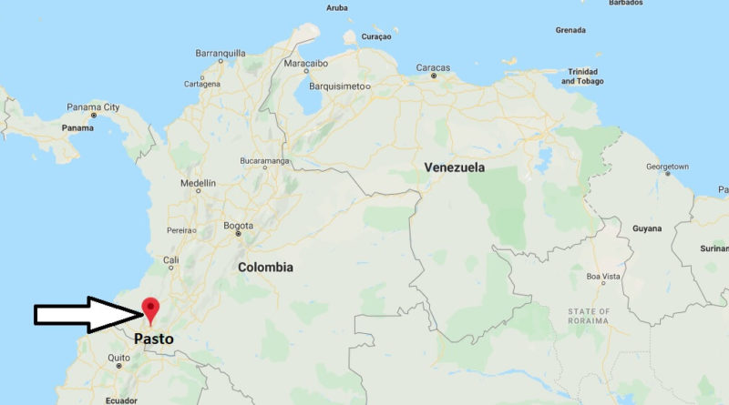 Where is Pasto Located? What Country is Pasto in? Pasto Map