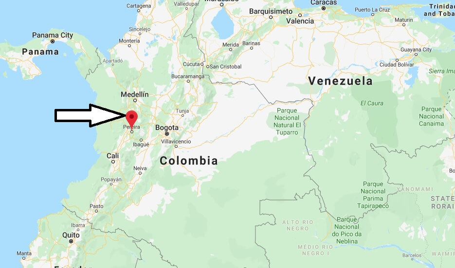 Where is Pereira Located? What Country is Pereira in? Pereira Map