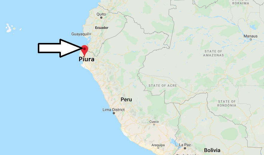 Where is Piura Located? What Country is Piura in? Piura Map