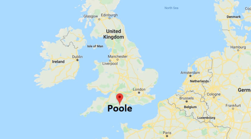 Where is Poole Located? What Country is Poole in? Poole Map