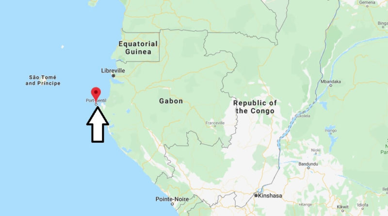 Where is Port-Gentil Located? What Country is Inda Port-Gentil in? Port-Gentil Map