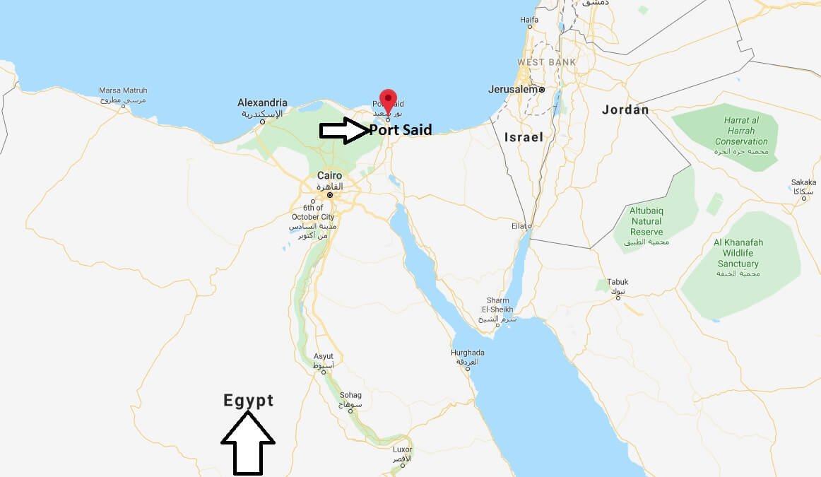 Where is Port Said Located? What Country is Port Said in? Port Said Map
