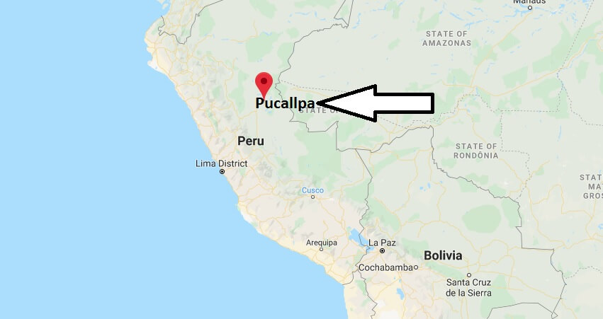 Where is Pucallpa Located? What Country is Pucallpa in? Pucallpa Map
