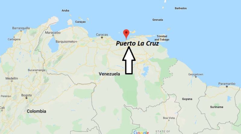 Where is Puerto La Cruz Located? What Country is Puerto La Cruz in? Puerto La Cruz Map