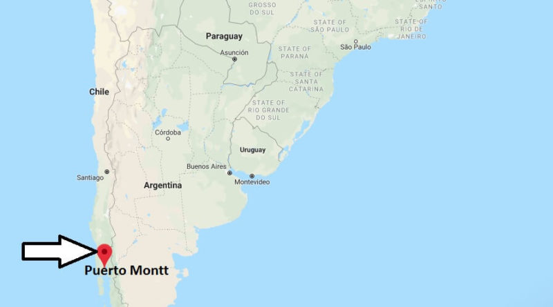 Where is Puerto Montt Located? What Country is Puerto Montt in? Puerto Montt Map