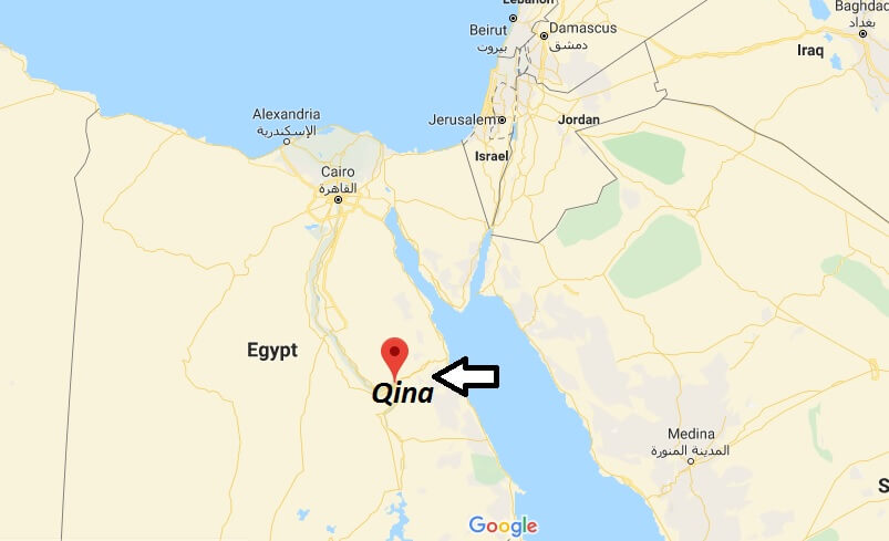 Where is Qina Located? What Country is Qina in? Qina Map